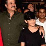 Anil Kapoor With His Nephew Jahaan Kapoor
