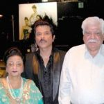 Anil Kapoor With His Parents