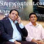 Anil Kumble with his brother