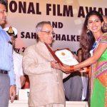 Anjali Patil receiving