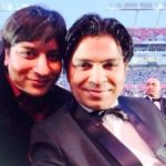 Ankit Tiwari with his brother