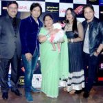 Ankit Tiwari with his family, from left (his father, mother, sister-in-law, brother)