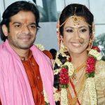 Ankita Bhargava with her Husband Karan Patel