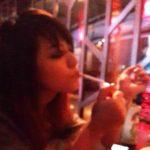 Ankita Konwar smoking