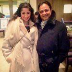 Ankita Makwana with her father