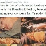 Anupam Kher controversial tweet