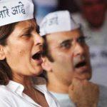 Archana Puran Singh supporting Anna Hazare