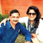 Archana Puran Singh with her brother