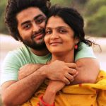 Arijit Singh with his wife