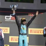 Arjun Maini first GP3 series win