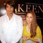 Arjun Rampal with Kim Sharma