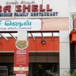 Arya Sea Shell restaurant at Anna Nagar in Chennai