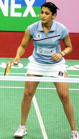 Ashwini Ponnappa Playing
