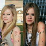 Avril and Melissa comparison