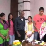 Axar Patel with his family
