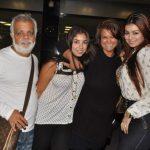 Ayesha Takia with her family