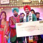 Balraj Singh Khehra 1st runner-up Mr.Punjab