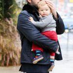 Ben Affleck with his Son Samuel Garner