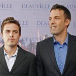 Casey Affleck with his brother Ben Affleck