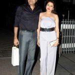 Bhagyashree with her husband Himalaya Dassani