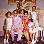 bhumibol-adulyadej-with-his-wife-and-children