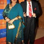 Bindu with her husband