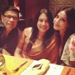 Bipasha Basu with her father and mother