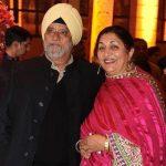 Angad Bedi parents - Bishan Singh Bedi and Anju Inderjit Bedi
