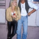 Brad Pitt with Elizabeth Daily