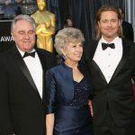 Brad Pitt with his parents