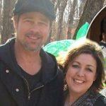 Brad Pitt with his sister Julie Pitt Neal