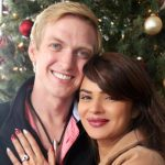Brent Goble with Aashka Goradia