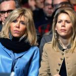 Brigitte Macron with her Youngest Daughter Tiphaine Auzière