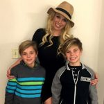 Britney with her sons