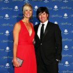 Bubba Watson with his wife