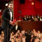 Casey Affleck with the Academy Award 2017