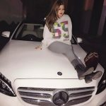 Chahat Paulwith her car