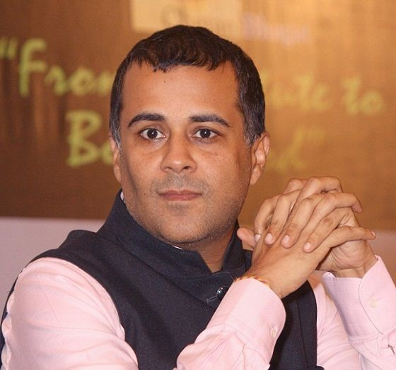 Chetan Bhagat profile