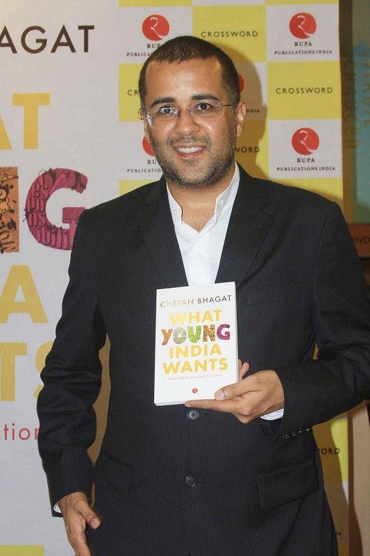 Chetan Bhagat writer columnist