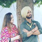 Cricketer Mandeep Singh with wife Jagdeep Jaswal