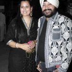 Daler Mehndi with his wife