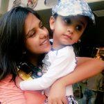 Daljeet Kaur with her son