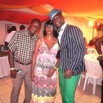 Darren Sammy with his parents