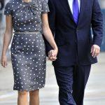 David Cameron with his wife Samantha