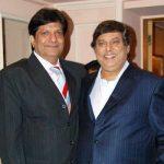 David Dhawan with his brother Anil Dhawan