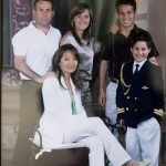 David Silva with Parents and Siblings
