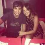 David Silva with his sister Natalia