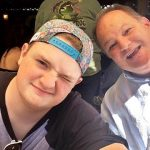 Davis Cripe with his Father