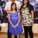 Dayanand Shetty with his wife and daughter