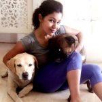 Debina Bonnerjee with Dogs